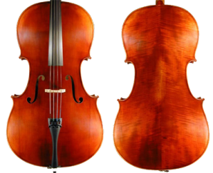 "Scott Cao ""Scotti"" SYC 150 Cello Front and Back Image"