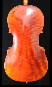 West Coast Strings Peccard Cello Back Image