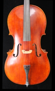 West Coast Strings Peccard Cello Front Image