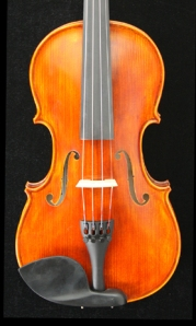 West Coast Strings Peccard violin front Image