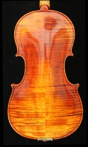 West Coast Strings Peccard Viola Back
